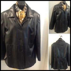 RICKIS LEATHER STYLE JKT L ⭐️ $10 Clearance